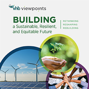 E-book cover image with photos of wind turbines, solar panels, a plant and residential battery storage units.