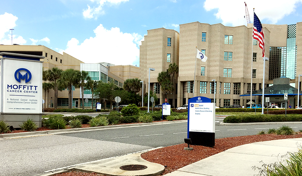 Moffitt Cancer Center and Research Institute in Tampa, Florida
