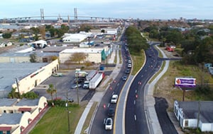 A video of people talking about the new Savannah Bay Street Widening Project
