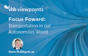 Future Forward: Transportation in our Autonomous World