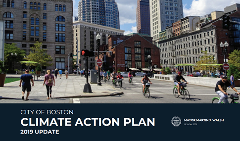 City of Boston Climate Action Plan 2019 Update