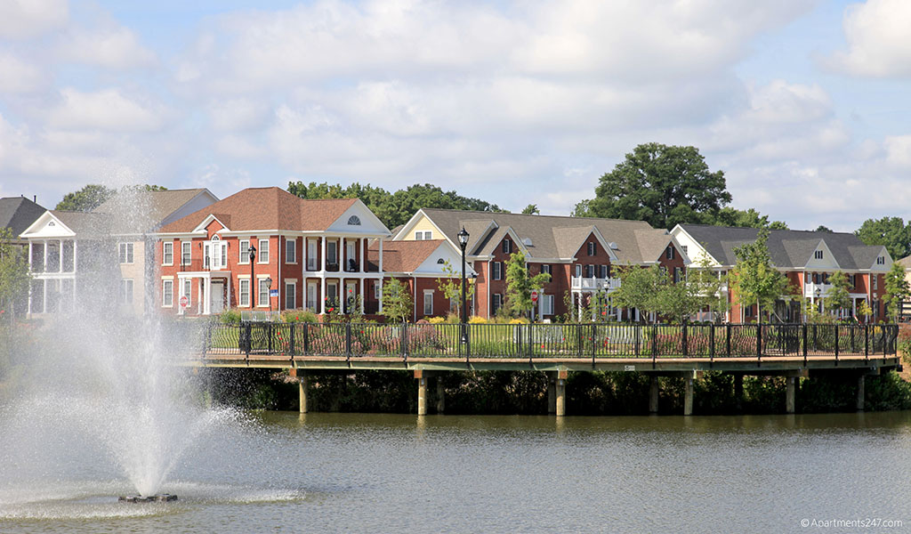 The revitalized Broad Creek development in Norfolk, Virginia.