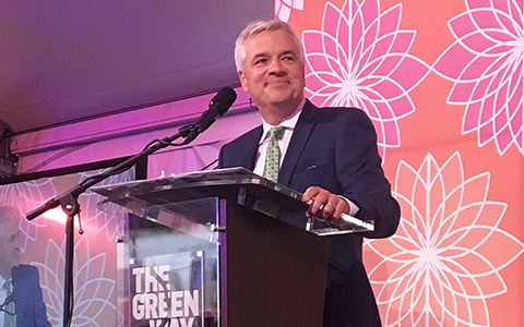 VHB's CEO Mike Carragher co-chairs Greenway Gala celebrating local communities.
