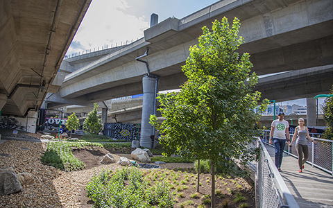 VHB wins ACEC-MA Engineering Excellence Award for the MassDOT Infraspace.