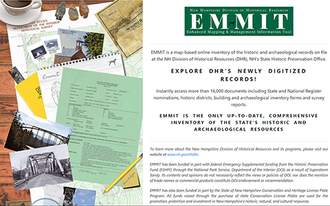 EMMIT software portal uses GIS to create historic map-based inventory and archive.