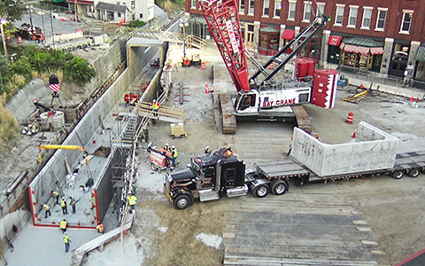 Middlebury Bridge and Rail Project Reaches Major Construction Milestone