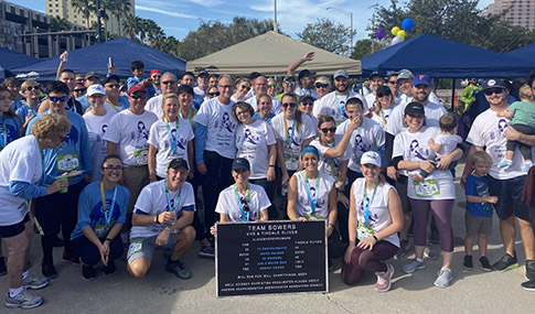 Team Bowers for Miles for Moffitt