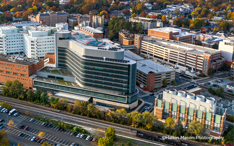 UVA's University Hospital Expansion Plinth Tower and Enabling facility