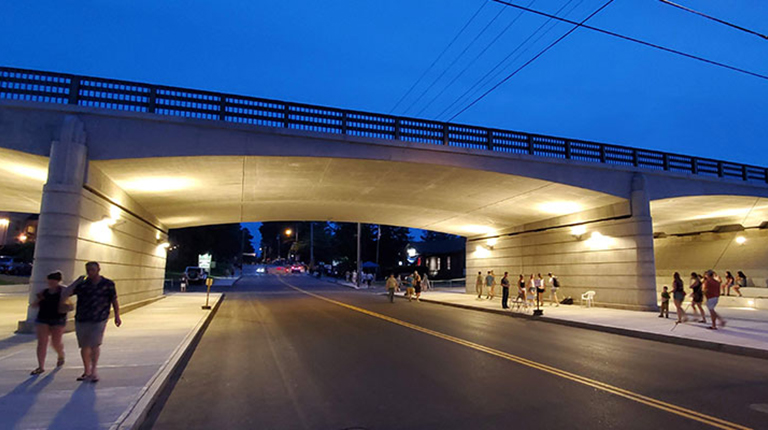 VHB Portland wins ACEC Maine Grand Conceptor Engineering Award for Route 1 Bridge.