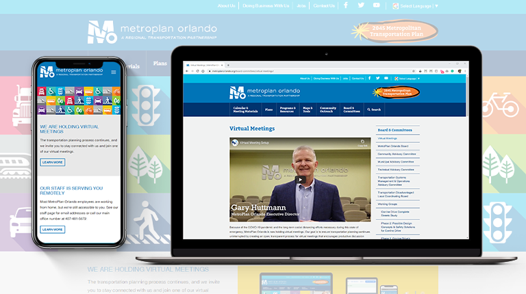VHB Helps MetroPlan Orlando Pivot to Virtual Public Meetings During COVID
