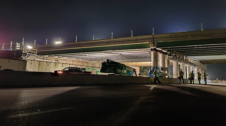 Major Milestone Reached on Route 44 over 24 Bridge Project