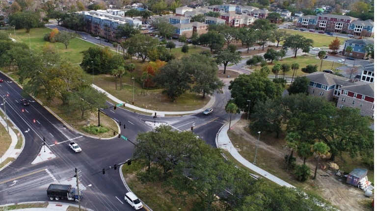 Savannah's Bay Street Widening Project Wins Two Prestigious Awards
